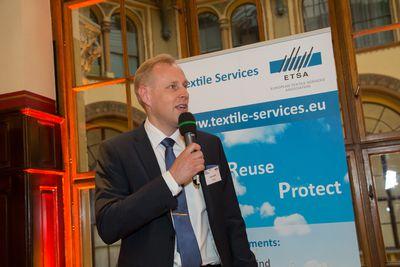 Juha Laurio addresses ETSA Conference