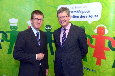 ETSA Secretary General Robert Long meets EU Commissioner
