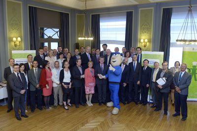 Napo meets EU OSHA partners and the EU Commissioner