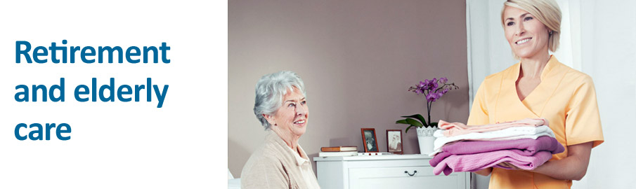 Retirement and elderly care - Picture ©CWS-boco