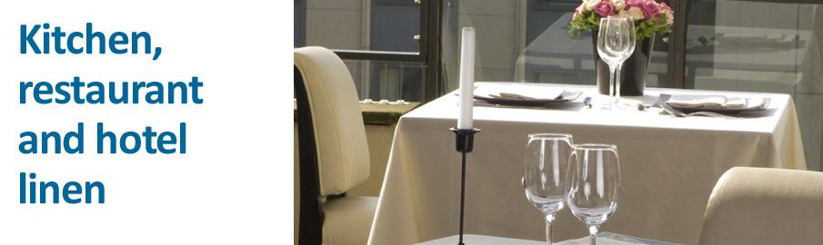 Kitchen, restaurant and hotel linen - Picture ©Elis