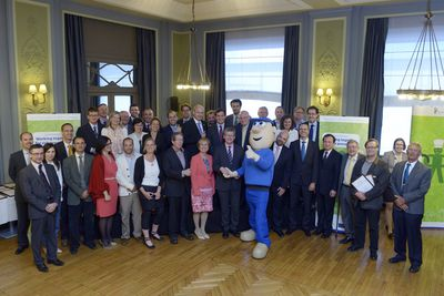 Napo meets EU OSHA partners and the EU Commissioner