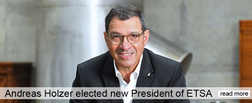 Andreas Holzer - New ETSA President